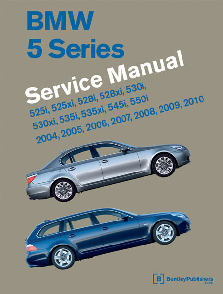 BMW 5 Series (E60 E61) Service Manual (2004-2010)
