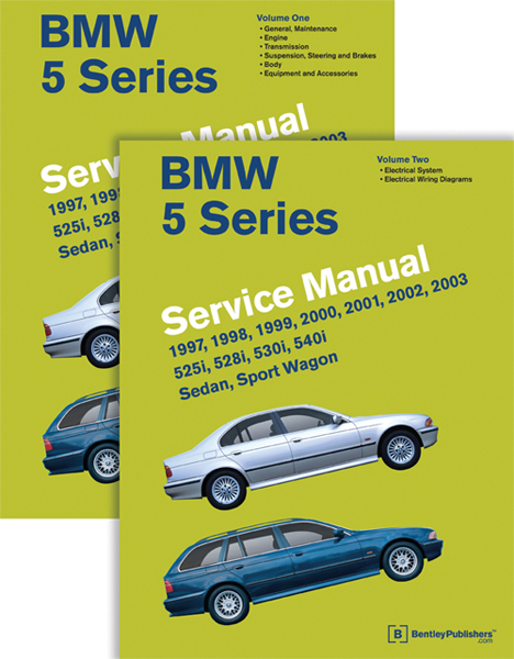 BMW 5-Series Service Manual- 2 Vol (1997-2003)
