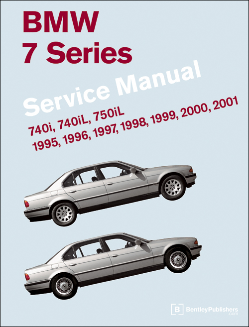 BMW 7 Series (E38) Service Manual 1995-2001