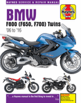 BMW F650, F700 & F800 Twins Haynes Repair Manual (2006-2016)