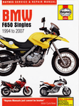 BMW F650 Singles Haynes Repair Manual (1994-2007)