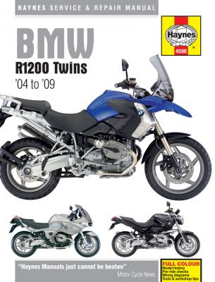 BMW Haynes Repair Manual for R1200 Twins (2004 - 2009)