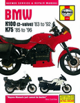 BMW K100 2-Valve & K75 Haynes Repair Manual (1983 - 1996)