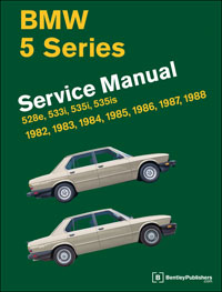 BMW Repair Manual 5 Series (E28) 19821988