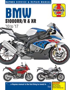 BMW S1000RR/R & XR Haynes Repair Manual (2010-2017)