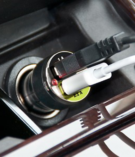 Image of Bracketron 12-Volt Universal Dual USB Car Charger