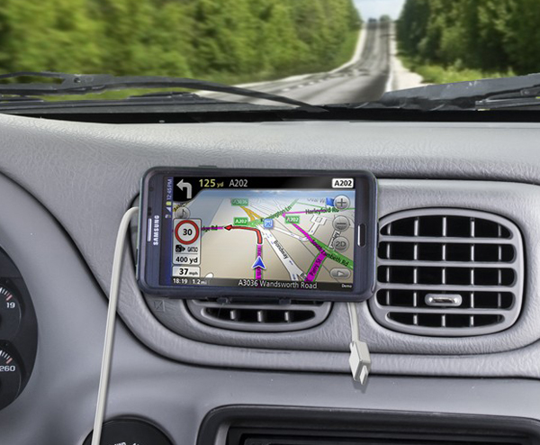 Image of Bracketron O2 Air Vent Mounted Magnetic Smartphone Holder