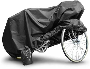 Budge Heavy Duty Black Bicycle Cover