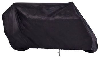 Budge Black Touring Motorcycle Cover