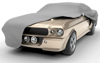 Budge Ultra UV and Dirt Protector Gray Car Cover