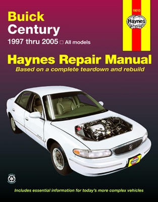 Complete coverage for your Buick Century Routine Maintenance Tune-up procedures Engine repair Cooling...