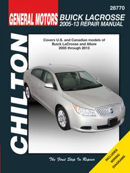 Image of Buick LaCrosse Chilton Repair Manual (2005-2013)