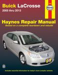 Buick LaCrosse Haynes Repair Manual (2005-2013)