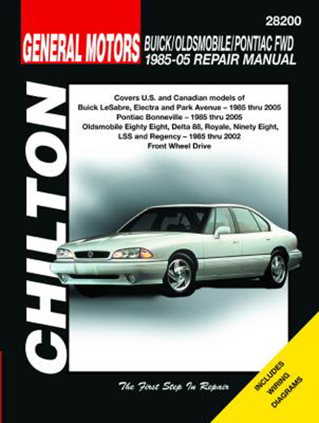 Image of Buick Oldsmobile & Pontiac FWD Chilton Repair Manual (1985-2005)