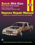 Buick Mid-Size Regal & Century/Century Wagon Haynes Repair Manual (1974-1987)