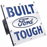 Built Ford Tough Class III Stainless Steel Hitch Plug