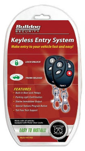 Image of Bulldog Security Keyless Remote Entry Kit