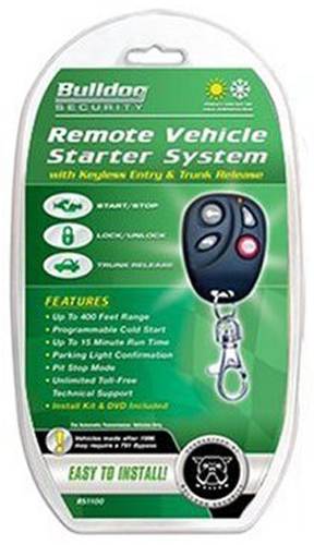 Image of Bulldog Security Remote Starter & Keyless Entry System