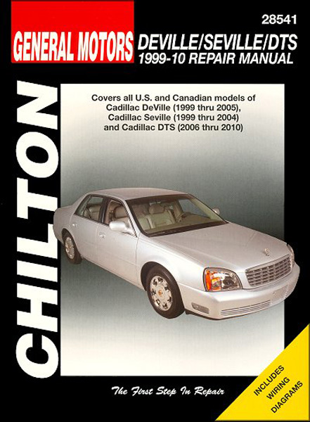 Image of Cadillac DeVille Seville & DTS Chilton Repair Manual (1999-2010)