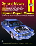 Cadillac Eldorado, Seville, Deville and Fleetwood, Olds Toronado, & Buick Riviera Haynes Repair Manual (1986-1993)