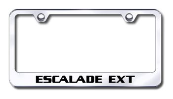 Cadillac Escalade EXT Laser Etched Stainless Steel License Plate Frame