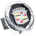 Cadillac Stainless Steel Hitch Plugs