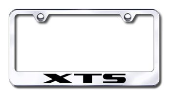 Cadillac XTS Laser Etched Stainless Steel License Plate Frame