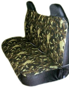 Camouflage Universal Truck Bench Seat Cover