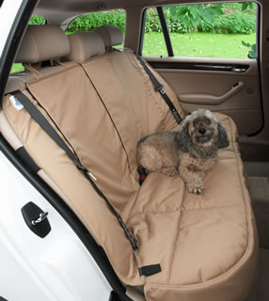 Image of Canine Covers Custom Rear Seat Protector