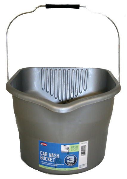 Image of Carrand 3 Gallon Ergonomic Car Wash Bucket