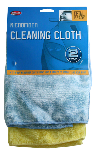 Image of Carrand Microfiber Drying Cloths (2 Pack)