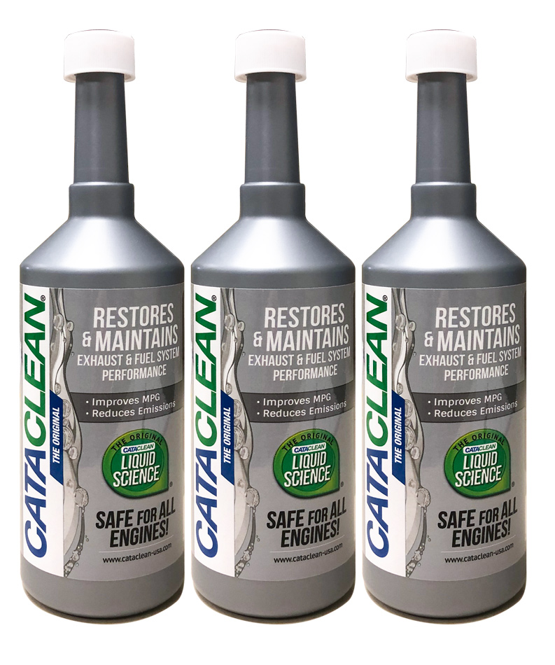Image of Cataclean Catalytic Converter & Fuel System Cleaner (16 oz) - 3 Pack