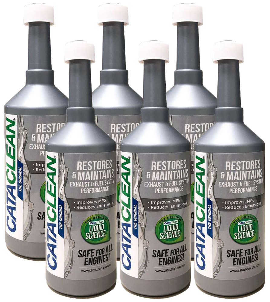 Cataclean Catalytic Converter & Fuel System Cleaner (16 oz) - 6 Pack