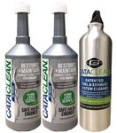 Cataclean Catalytic Converter & Fuel System Cleaner (16 oz) Plus Water Bottle Combo