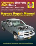 Chevy Silverado, Avalanche, Suburban, Tahoe and GMC Sierra & Yukon Haynes Repair Manual (2007-2014)