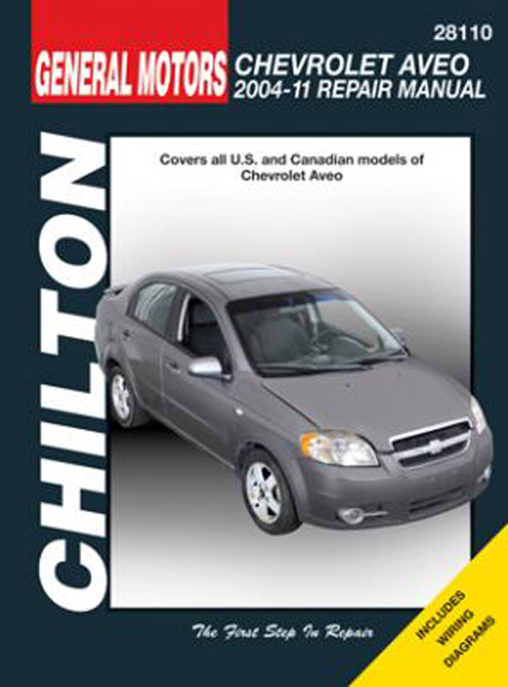 Chevrolet Aveo Chilton Repair Manual (2004-2011)