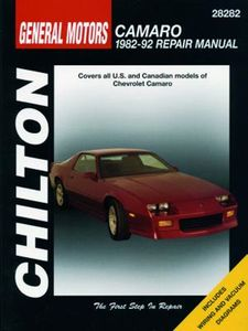 Chevrolet Camaro Chilton Manual (1982-1992)