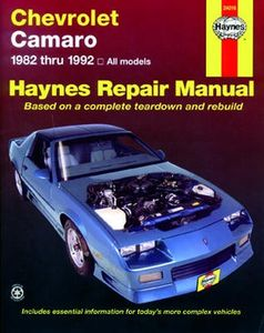 Chevrolet Camaro Haynes Repair Manual (1982-1992)