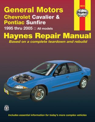 Chevrolet Cavalier & Pontiac Sunfire Haynes Repair Manual (1995-2005)