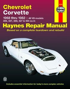 Chevrolet Corvette Haynes Repair Manual (1968-1982)