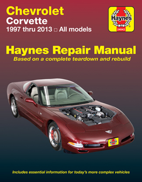 Chevrolet Corvette Haynes Repair Manual (1997-2013)