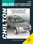 Chevrolet Equinox & Pontiac Torrent Chilton Manual (2005-2017)