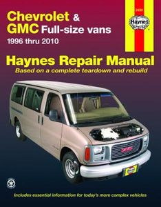Chevrolet Express & GMC Savana Full-size Vans Haynes Repair Manual (1996-2010)