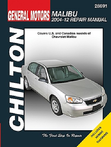 Chevrolet Malibu Chilton Repair Manual (2004-2012)