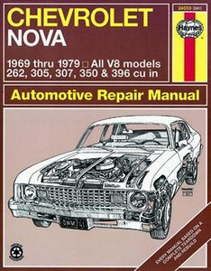 Chevrolet Nova Haynes Repair Manual (1969-1979)