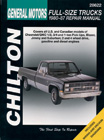 Chevrolet Pick-Ups (1980-87) Chilton Manual