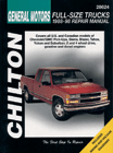 Chevrolet Pick-Ups (1988-98) Chilton Manual