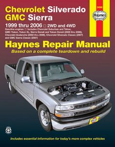 Chevrolet Silverado & GMC Sierra Haynes Repair Manual (1999-2006)