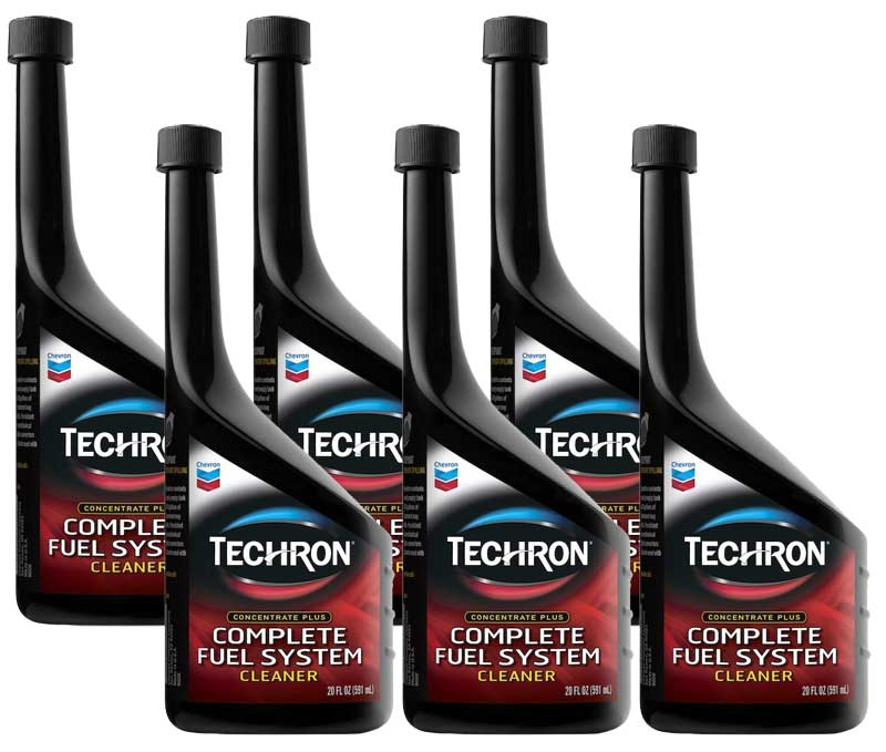 Image of Chevron Techron Fuel System Cleaner-6 Pack (20 oz.)