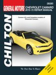Chevy Camaro Chilton Repair Manual (2010-2015)